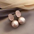 NHNJ1455984-Silver-Post-Pink-Pearl-Earrings