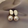 NHNJ1455985-Silver-Post-Grey-Pearl-Earrings