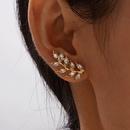 New full diamond leaf earrings  NHAJ316597