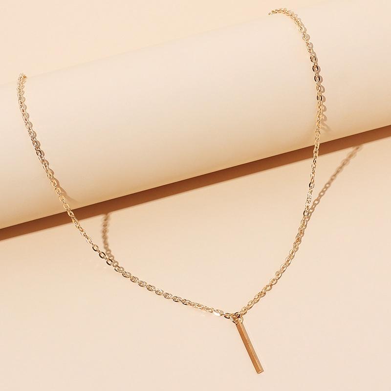 geometric simple fashionable necklace NHRN316608