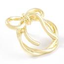 round bow alloy earrings NHJE316614
