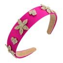 fashion fabric widebrimmed heartshaped headband NHLN316624