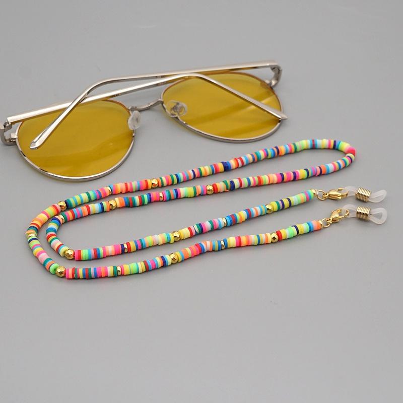 Simple bohemian multifunctional glasses chain NHGW316641