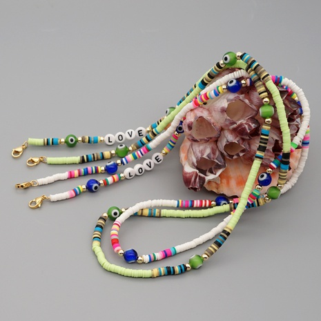 Collier de poterie douce de style bohème simple NHGW316645's discount tags