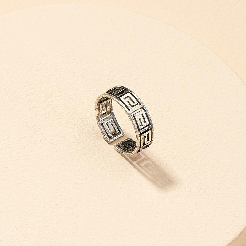 wholesale geometric opening ring NHGU316688