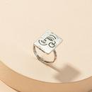 retrato de moda divertido anillo retro NHGU316696