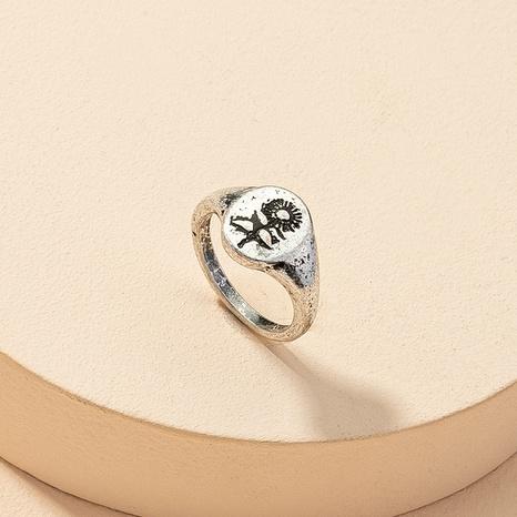 Modeblume Retro Ring NHGU316700's discount tags
