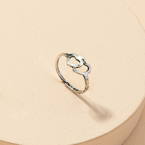 Mode Liebe offenen Retro Ring NHGU316701's discount tags