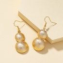 Chinese style gourd retro earrings NHQJ316717