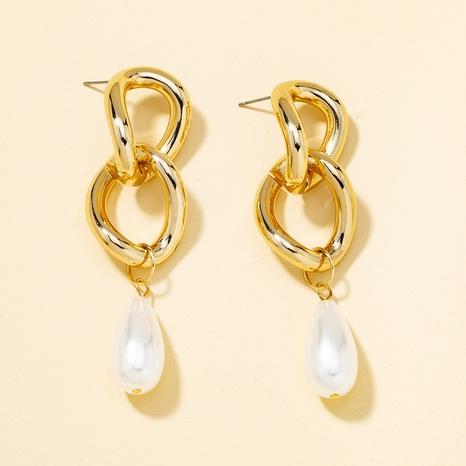 retro pearl fashion earrings NHQJ316718's discount tags