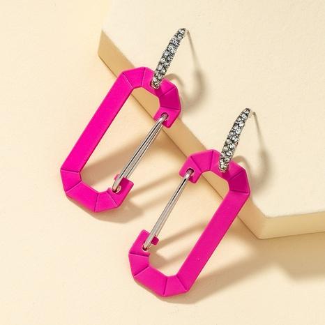 mehrfarbige einfache Retro-Ohrringe NHQJ316720's discount tags