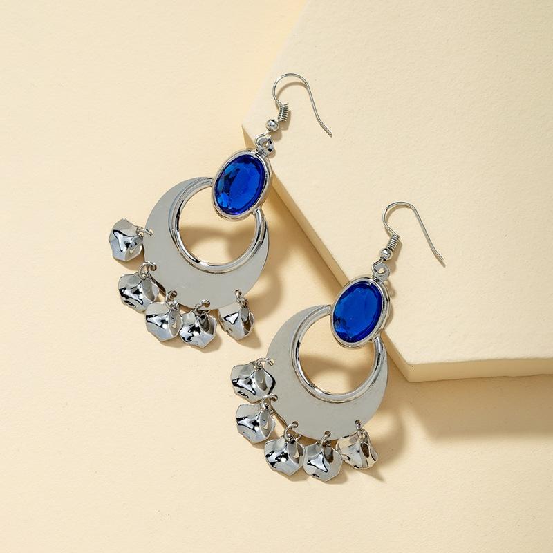 fashion long retro earrings NHQJ316722