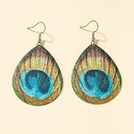 retro metal printing fashion earrings NHQJ316726's discount tags