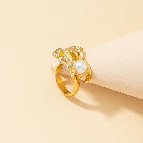 New Retro fashion Pearl Ring NHQJ316730's discount tags
