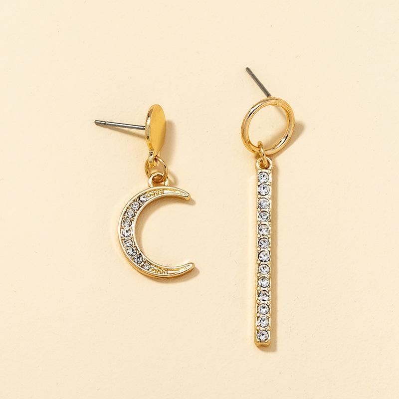 New simple diamond creative earrings NHQJ316732