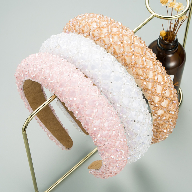 crystal sponge broadbrimmed headband NHLN316748