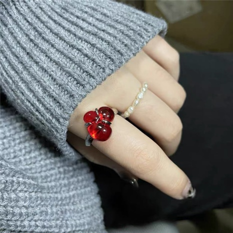 Transparenter offener Ring der koreanischen Mode NHYQ316755's discount tags