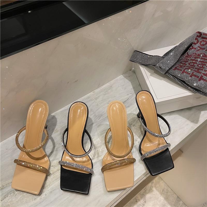 fashion rhinestone belt sandals NHHU316915