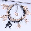 fashion simple swallow exaggerated bracelet NHSC317051