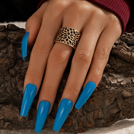 simple fashion exaggerated ring NHGY317544's discount tags