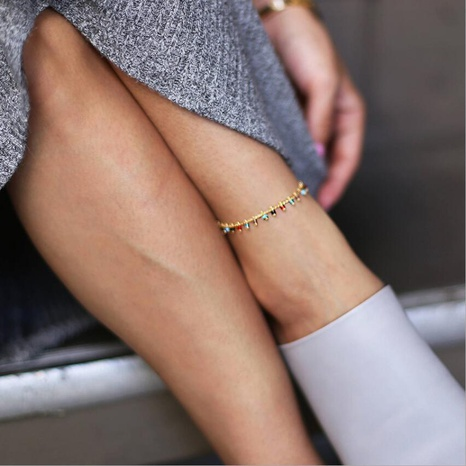 simple exaggerated simple anklet NHYI317065's discount tags