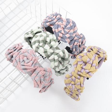 flower print headband  NHJE317115's discount tags