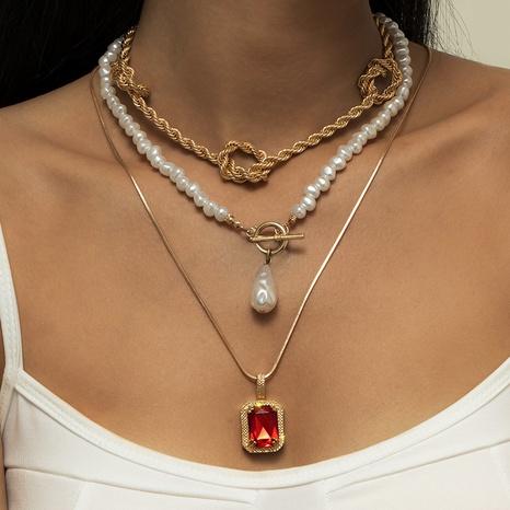 collier de perles à boucle OT simple NHXR317191's discount tags