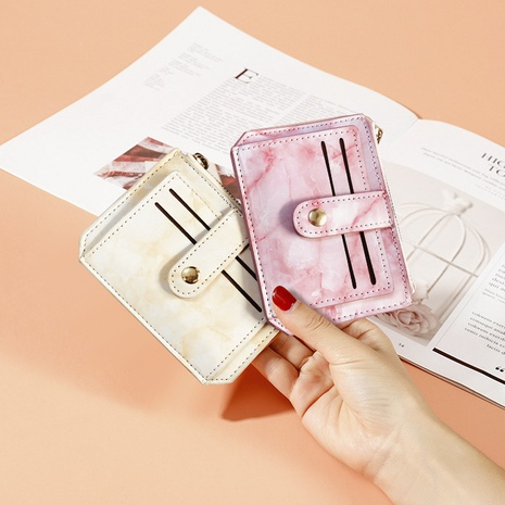 Korean grain coin purse multi-card position certificate card package NHBN317203's discount tags