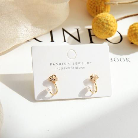 Boucles d'oreilles créatives coréennes en perles sauvages NHQD317238's discount tags