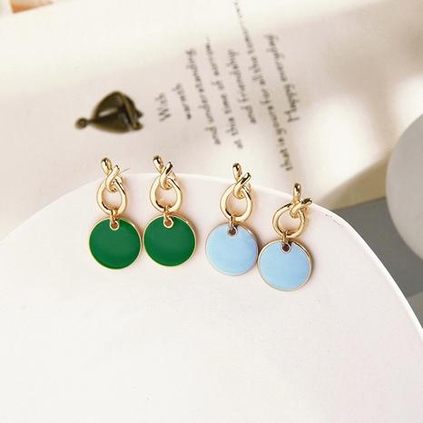 Boucles d'oreilles géométriques nouées créatives coréennes NHQD317268's discount tags