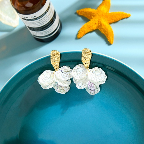 Korean fashion exaggerated flower earrings NHQD317270's discount tags