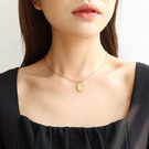 NHOK1461864-Golden-necklace-40+5cm