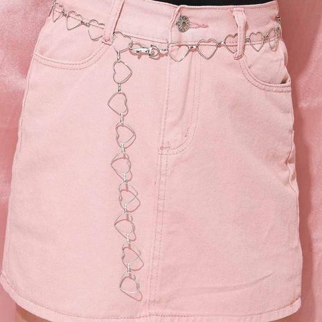fashion heart-shaped waist chain NHPV317277's discount tags