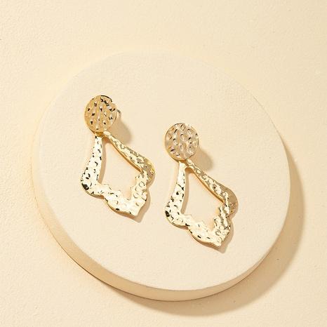 fashion metal geometric earrings  NHQJ317332's discount tags