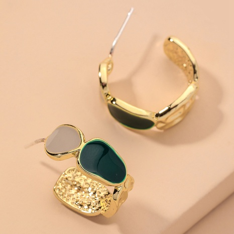 925 Silver Needle Geometric Earrings NHNJ317398's discount tags