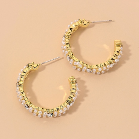 elegant fashion retro pearl earrings  NHNJ317401's discount tags