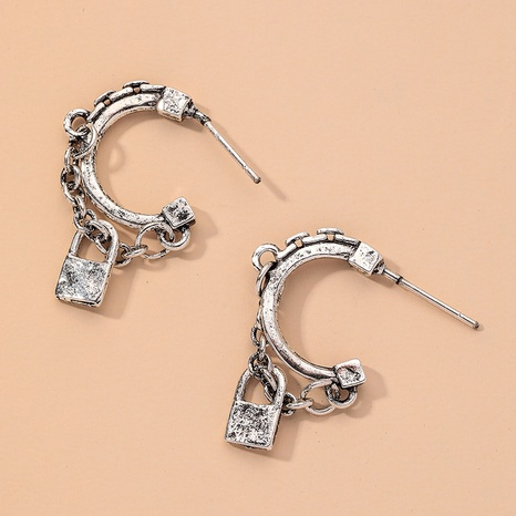 exquisite modische asymmetrische Ohrringe NHNJ317407's discount tags