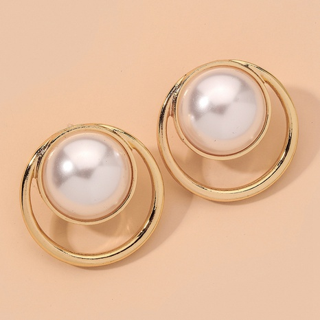 fashion exquisite retro pearl earrings  NHNJ317409's discount tags