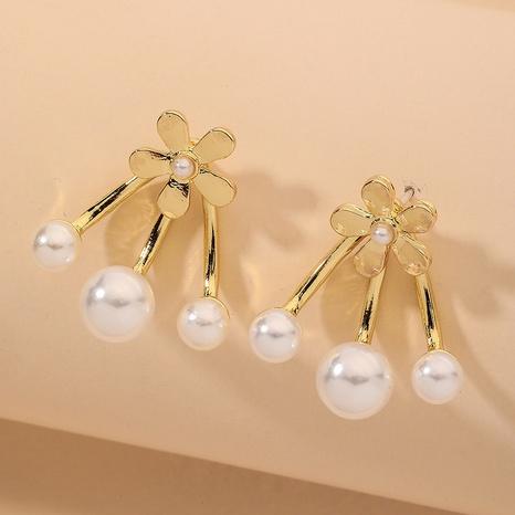 fashion flower elegant earrings NHNJ317415's discount tags