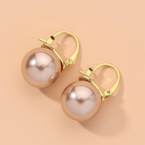 simple pearl exquisite retro earrings NHNJ317435's discount tags