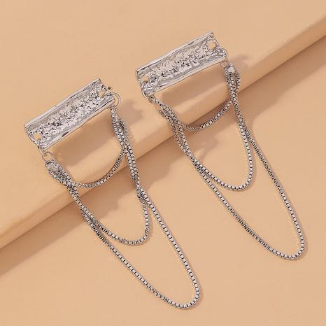 fashion long chain earrings  NHNJ317458's discount tags
