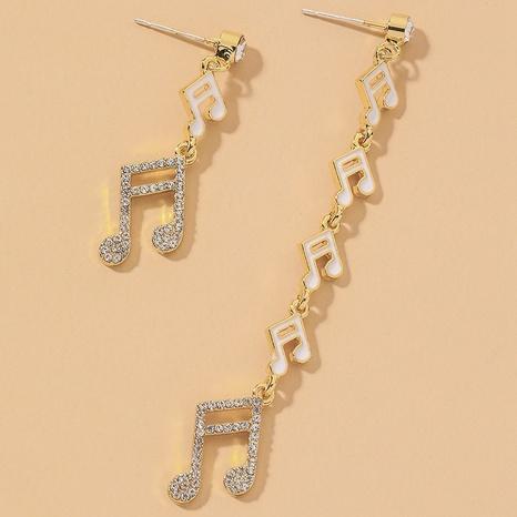 asymmetrische Mode kreative Ohrringe NHNJ317468's discount tags