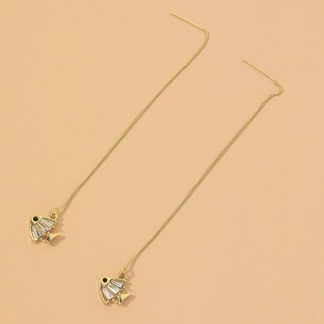 zircon small goldfish ear line NHNJ317474's discount tags