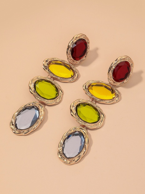 colored diamond long earrings  NHNJ317519's discount tags