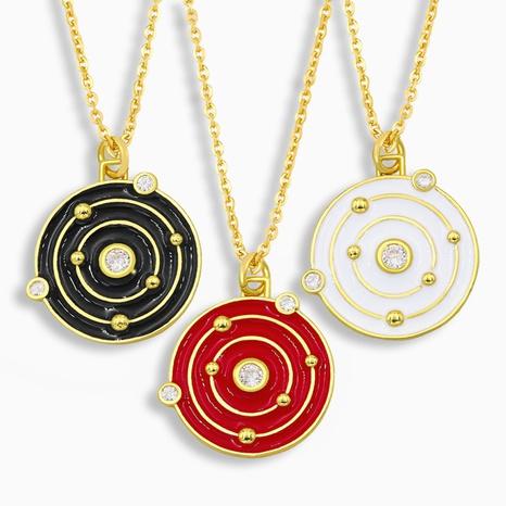 nuevo collar colgante de estrella de diamantes de moda NHAS317531's discount tags