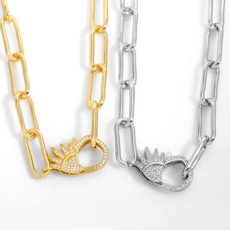 collar de cadena simple de moda retro NHAS317536's discount tags
