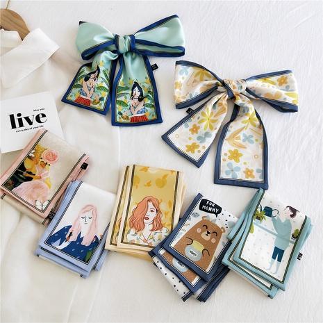 korean flat anglel long silk scarf  NHMN317817's discount tags
