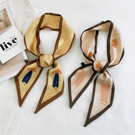 new korean fashion narrow strip scarf  NHMN317819's discount tags