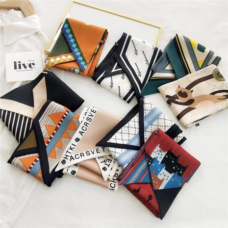 New fashion long strip narrow streamer scarf NHMN317820's discount tags