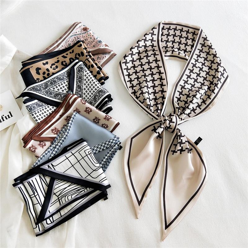 Korean fashion Long Strip Scarf  NHMN317821